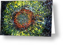 Physiological Supernova Greeting Card by Michael Kulick