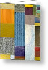 Pieces Parts Ll Greeting Card by Michelle Calkins