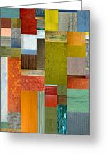 Pieces Parts Lll Greeting Card by Michelle Calkins