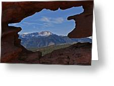 Pikes Peak 2 2012 Greeting Card by Ernie Echols