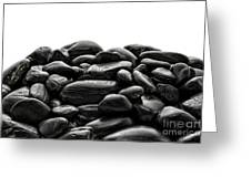 Pile Of Stones Greeting Card by Olivier Le Queinec