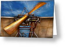 Pilot - Prop - They Don't Build Them Like This Anymore Greeting Card by Mike Savad