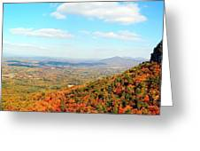 Pilot Valley Greeting Card by Kelvin Booker
