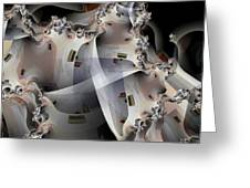 Pin Wheels Greeting Card by Ron Bissett