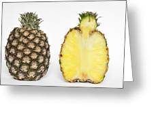 Pineapple Ananas Comosus Greeting Card by Matthias Hauser