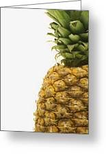 Pineapple Greeting Card by Darren Greenwood