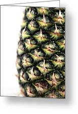 Pineapple Half Greeting Card by John Rizzuto