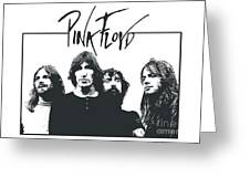 Pink Floyd No.05 Greeting Card by Caio Caldas