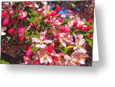 Pink Magnolia 2 Greeting Card by Joann Vitali