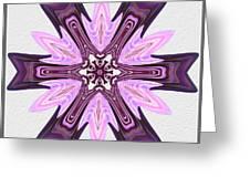 Pink Ribbons Greeting Card by Pat Follett