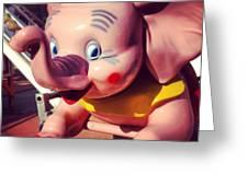 Pinkie Greeting Card by Gabe Arroyo