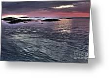 Pinkyblue Horizon 2 Greeting Card by Heiko Koehrer-Wagner