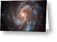 Pinwheel Galaxy Greeting Card by The  Vault - Jennifer Rondinelli Reilly