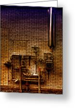 Pipes Greeting Card by Andre Faubert