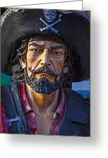 Pirate Captain Greeting Card by Garry Gay