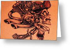 Pirate Greeting Card by Sean Ingram