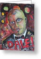 Pitbull - Dale Greeting Card by Lorenzo Muriedas