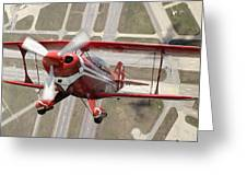 Pitts Special S-2b Greeting Card by Larry McManus