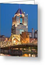 Pittsburgh 23 Greeting Card by Emmanuel Panagiotakis