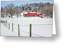 Platt Farm Greeting Card by Bill Wakeley