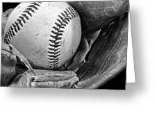 Play Ball Greeting Card by Don Schwartz