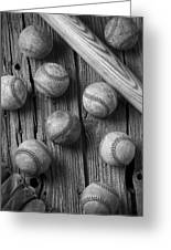 Play Ball Greeting Card by Garry Gay