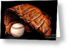 Play Ball Greeting Card by Olivier Le Queinec