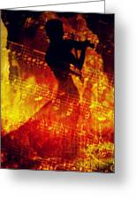 Playing Just For You Greeting Card by Gun Legler