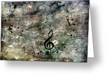Playing Your Song Greeting Card by Angelina Vick