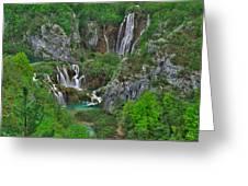 Plitvice Greeting Card by Ivan Slosar