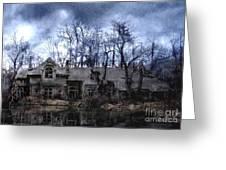 Plunkett Mansion Greeting Card by Tom Straub