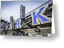 Pnc Park Greeting Card by Chris Smith