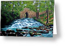 Poinsett Bridge I Greeting Card by Andrew Wells