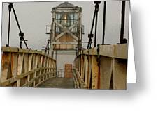 Point Bonita Lighthouse Greeting Card by Art Block Collections