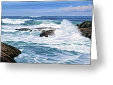 Point Lobos Greeting Card by Paul Krapf