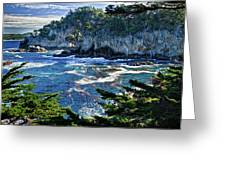 Point Lobos Greeting Card by Ron White