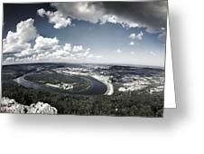 Point Park Overlook 2 Greeting Card by Steven Llorca