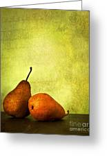 Poire Beurre Bosc Greeting Card by Theresa Tahara