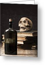 Poison Bottle Greeting Card by Amanda And Christopher Elwell
