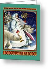 Polar Magic Greeting Card by Lynn Bywaters
