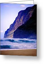 Polihale Beach Kauai Greeting Card by Kevin Smith