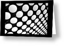 Polka Dots Greeting Card by Ann Horn
