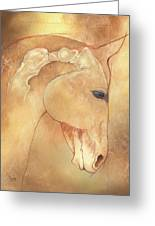 Poll Meet Atlas Axis Greeting Card by Catherine Twomey