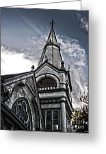 Pomona Seventh Day Adventist Church Greeting Card by Gregory Dyer