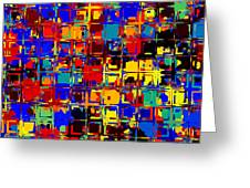 Pop Colors 15 Greeting Card by Craig Gordon