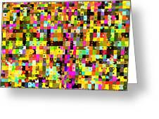 Pop Colors 17 Greeting Card by Craig Gordon