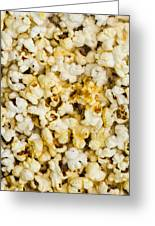 Popcorn - Featured 3 Greeting Card by Alexander Senin