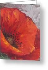 Poppy1 Greeting Card by Susan Richardson