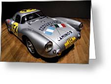 Porsche 550 Le Mans Greeting Card by Lance Vaughn