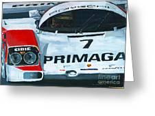 Porsche 962 Le Mans 24 Greeting Card by Yuriy Shevchuk